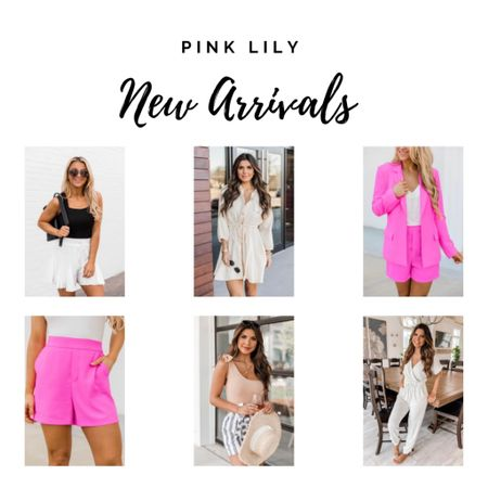 Pink Lily New, pink power suit, business casual, dress, romper http://liketk.it/3hfKU #liketkit @liketoknow.it #LTKunder50 #LTKworkwear #LTKtravel