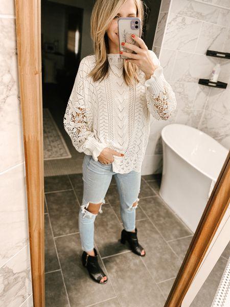 Long Sleeve Hollow Out Sweater Color: Lace Black/TTS/wearing a size S #ifounditonamazon #amazonfashion #amazonfinds #outfitoftheday #ootd #outfitideas #outfitinspo #amazonsweater #amazonfallfashion #amazonwinterfashion   http://liketk.it/3pG9S   @liketoknow.it #liketkit #LTKbeauty #LTKcurves #LTKstyletip #LTKfit #LTKSeasonal