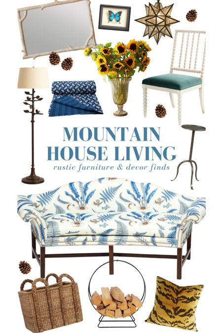 Mountain house inspiration! Shop these finds and many more on KatieConsiders.com @liketoknow.it #liketkit http://liketk.it/3bj6I