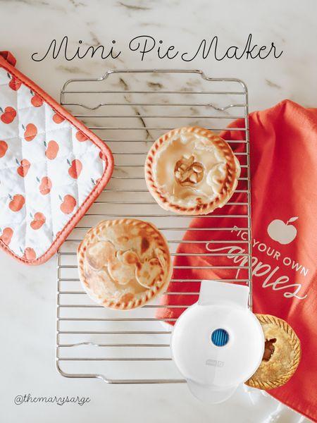 This mini pie maker is perfect for holiday get togethers 🥧   #LTKsalealert #LTKSeasonal #LTKHoliday