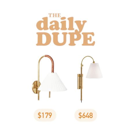 Wall Sconce, Home Lighting, Daily Dupe, Save vs Splurge   #LTKhome