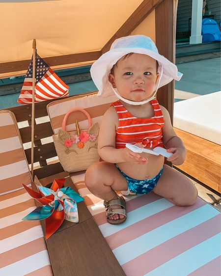 Red, white & cute ❤️🤍💙 #missamerica Linking her 4th of July swimsuit, Target finds and toddler cabana here @shop.ltk http://liketk.it/3iTgo #liketkit #kidkraftkids #americanstyle #toddlerfashion #babygirl #kidkraft #targetfinds #catandjack #targetstyle #toddlergirl #4thofjuly #fourthofjuly #targetdeals #mommyblogger #LTKfamily #LTKkids #LTKswim #toddlergirlfashion @liketoknow.it @liketoknow.it.family