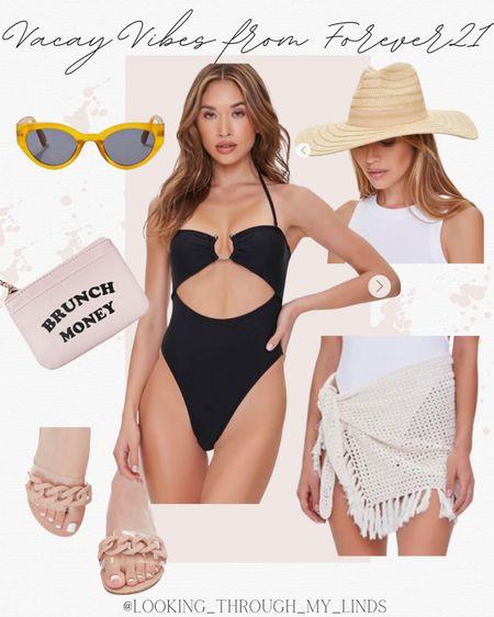 Swimsuit   bathing suit   one piece swimsuit   cover up   beach vacation   #LTKtravel #LTKunder50 #LTKswim