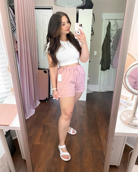 FINALLY shorts that are comfy, cute, AND under $15 ☀️ Plus they come in 16 colors & patterns so you're sure to fall in love with at least one pair! Make sure to check out all my other Walmart finds in my other posts - everything is under $30 and most of my finds are under $15!  Sizes: Top - medium Shorts - XL Shoes - true to size (wearing size 8)   http://liketk.it/3fcL6 #liketkit @liketoknow.it #LTKcurves #LTKseasonal #LTKsalealert #LTKunder50