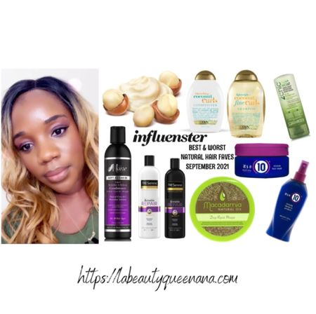 THE BEST HAIR PRODUCTS FOR NATURAL HAIR GROWTH + RETENTION|BEST PRODUCTS TO DETANGLE DRY MATTED COILY + KINKY HAIR IN LESS THAN 1 HOUR♡  MES PRODUITS FAVORIS POUR CHEVEUX CRÉPEUX ET NATURELS ♡  #LTKunder50 #LTKitbag #LTKbeauty