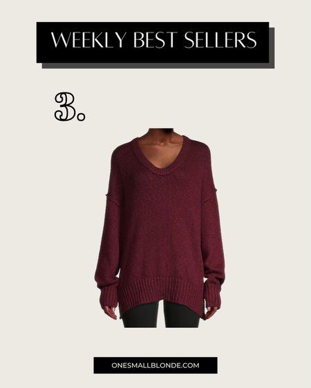 Free people sweater on SALE!   #LTKSeasonal #LTKsalealert #LTKunder50