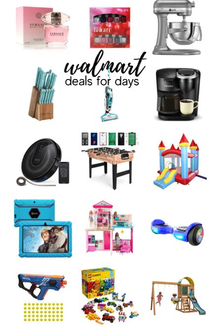 Walmart Deals for Days!! Toys, laptops, kitchen appliances, game room supplies, beauty items   #LTKfamily #LTKGiftGuide #LTKHoliday