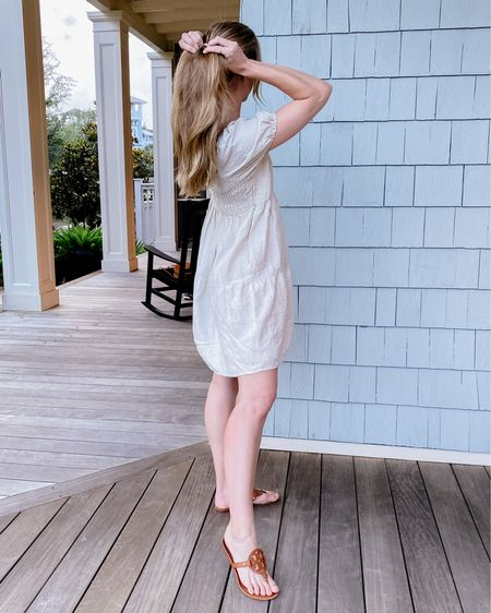 Summer beach outfit // mango dress, linen dress, brown sandals http://liketk.it/2Ry1b #liketkit @liketoknow.it #LTKunder100 #LTKunder50 #LTKstyletip #LTKsummer