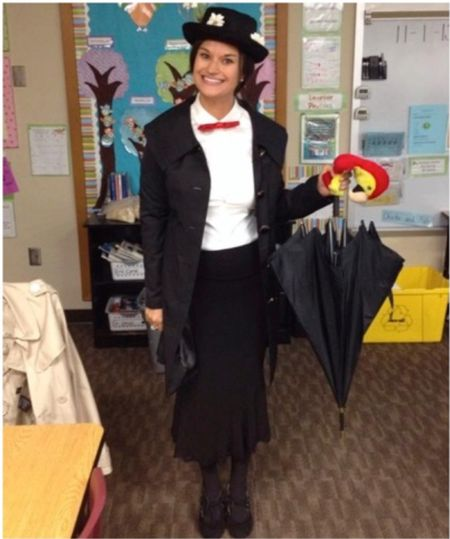 Mary Poppins outfit for Halloween #justpostedblog   Halloween  Amazon  Fun costume   #LTKHoliday #LTKSeasonal #LTKunder50