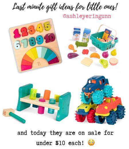 Last minute toy gift ideas for little ones!! All under $10 💘💘💘  #LTKsalealert #LTKbaby #LTKgiftspo