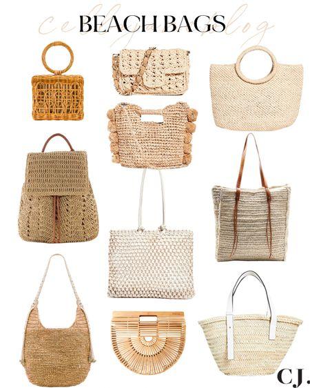 My favorite summer beach bags!   #LTKswim #LTKunder100