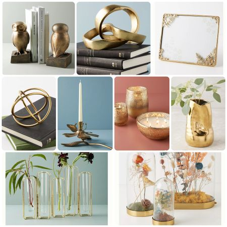 I just went on an Anthropologie binge! I'm loving all the amazing gold decor they have and I'm debating on what pieces to get for my own bookshelves. In awe and appreciation of their amazingness I wanted to share some of my favorites ❤️ enjoy! @liketoknow.it #liketkit http://liketk.it/2Xbby