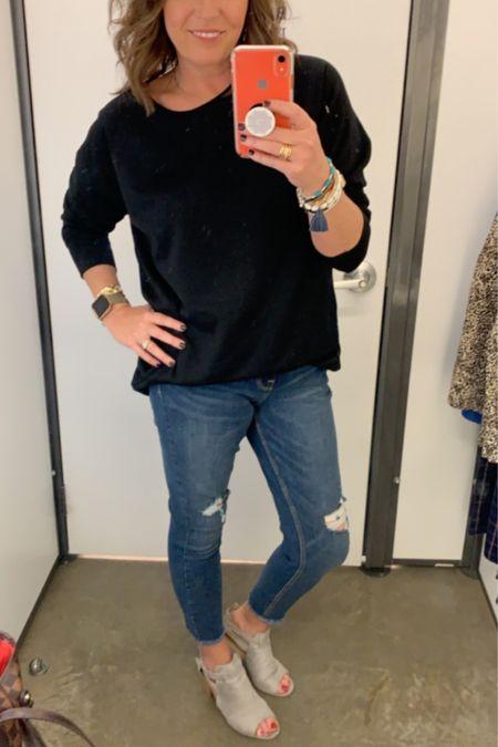 Do you dress a sweatshirt  up? It's so easy to do with the right booties!!❤️ http://liketk.it/2Fr89 @liketoknow.it Shop my daily looks by following me on the LIKEtoKNOW.it shopping app #liketkit #LTKunder50 #LTKstyletip #LTKsalealert #LTKshoecrush #LTKunder100