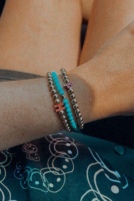 20% off personalized bracelets @ baublebar  Initial bracelets Gold name jewelry Sale   #LTKstyletip #LTKsalealert