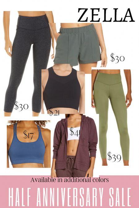 Nordstrom activewear and athleisure for working on in the half anniversary sale.   #LTKfit #LTKunder50 #LTKsalealert