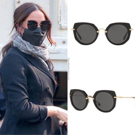 Updated ID Miu Miu ariste sunglasses #new  ID Meghan's closet chronicles    #LTKstyletip