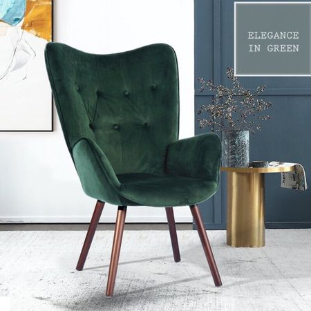The tufted green armchair that goes in any room in your house. On sale now!  #LTKhome #LTKsalealert #LTKfamily @liketoknow.it.family @liketoknow.it.home http://liketk.it/3dbZi #liketkit @liketoknow.it