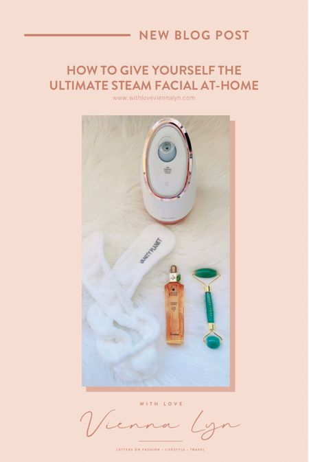 My ultimate steam facial tool kit. Head to my blog for more info on how to give yourself the ultimate steam facial at home.   #LTKSpringSale #LTKbeauty