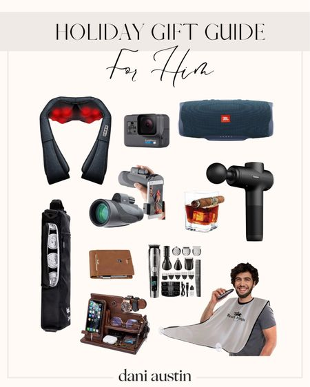 Holiday gift guide for him. For the father in law. For dad. For husband   #LTKHoliday #LTKGiftGuide