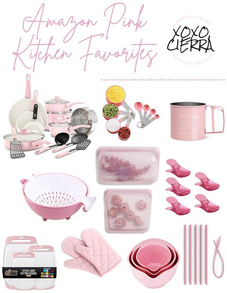 Slowly making the leap to turn my kitchen pink & these are the items I'm testing it out with!💖   #LTKhome #LTKfamily