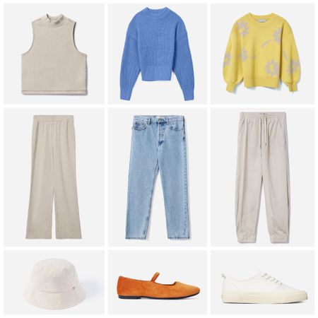 I'm loving these pops of color for fall! When the days get shorter, I usually need something else to cheer me up & I love the bright yellow & blue for that! I'll wear leggings or sweats over jeans but I'll always choose a sweater over a sweatshirt 🤷🏻♀️ These are all on my wish list right now!   #LTKunder100 #LTKSeasonal #LTKstyletip
