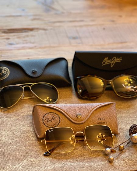 My top three sunglasses picks-classic, retro and glam. Spring accessory staples. #LTKSeasonal http://liketk.it/39xJn #liketkit @liketoknow.it