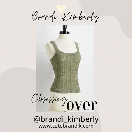 This cute green sweater tank is perfect for the upcoming season. Great transition piece   #LTKSeasonal #LTKstyletip #LTKbacktoschool