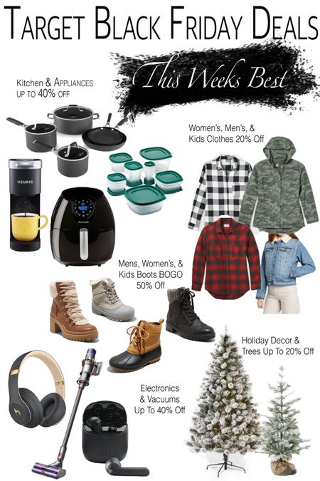 Target Black Friday picks for this week! I'll be sharing my faves every week! http://liketk.it/30Jfa #liketkit @liketoknow.it #LTKkids @liketoknow.it.family Shop your screenshot of this pic with the LIKEtoKNOW.it shopping app #LTKsalealert #LTKmens