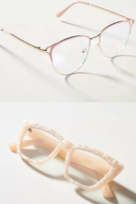 Blue light glasses that are actually adorable!!  #LTKunder50 #LTKworkwear #LTKsalealert