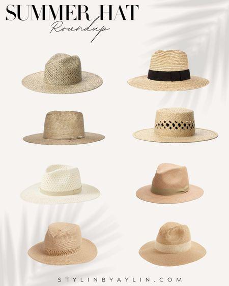 Summer hat round up, summer accessories, summer fashion, beach vacation style, summer style, everyday accessories, StylinbyAylin   #LTKSeasonal #LTKunder100 #LTKstyletip