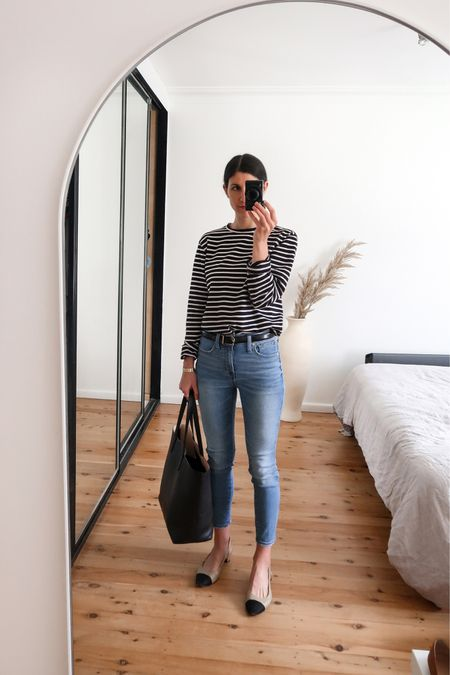 One of my favourites from the Nordstrom Anniversary Sale are these Madewell skinny jeans. Timeless, and will never go out of fashion (I don't care what Gen Z say 🙊). I find their denim runs a little large so size down or go with the smaller of the two if in between sizes #nordstrom #nsale #madewell #denim  #LTKSeasonal #LTKsalealert #LTKstyletip