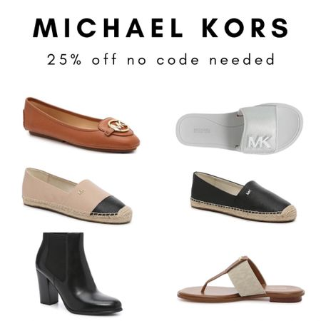Michael Kors 25% off // shoe sale // sandals // flats // booties   #LTKunder100 #LTKshoecrush #LTKsalealert