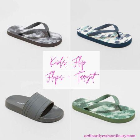 Beach wear - boys' flip flops http://liketk.it/3iXmF #liketkit @liketoknow.it #LTKfamily #LTKkids #LTKunder100
