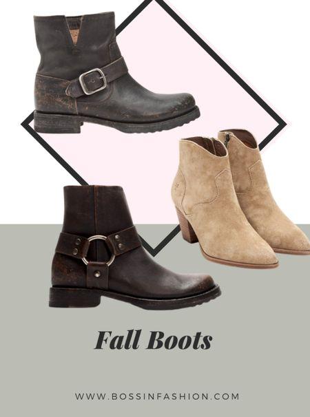 Shop some of my favorite fall boots! I love a good boot during fall season! #fallstyle #fallshoes #ankleboot #fallboot  #LTKshoecrush #LTKstyletip #LTKSeasonal