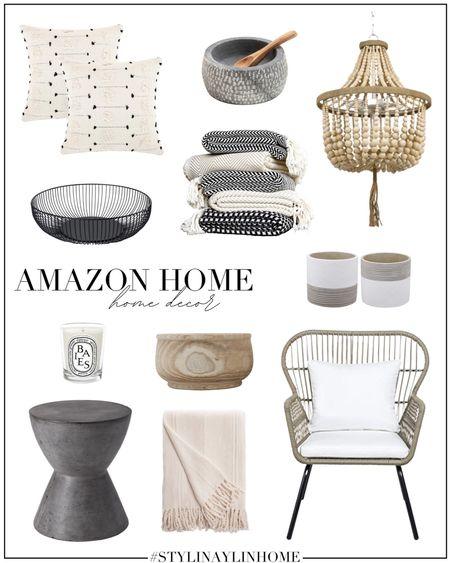 Amazon home decor, amazon finds, amazon home, neutral home decor, simple home decor, StylinByAylinHome   #LTKhome #LTKstyletip #LTKunder100