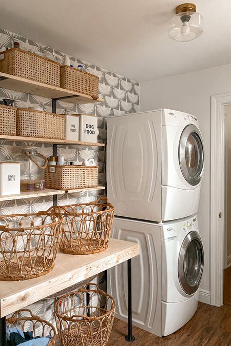 Laundry room makeover 👏🏼👏🏼 #amazonfinds #amazonhome #amazonstyle   #LTKhome #LTKstyletip