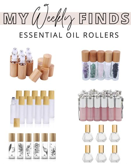 My Weekly Finds | The prettiest essential oil rollers! http://liketk.it/34qNo #liketkit @liketoknow.it
