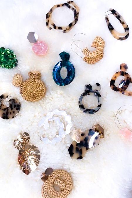 16 pairs of rattan + resin earrings for $28! Plus they ship prime! #liketkit #LTKsalealert #LTKunder50 #LTKstyletip http://liketk.it/2RGn7 @liketoknow.it #amazon #amazonprime #amazonfashion #founditonamazon #resin #rattan