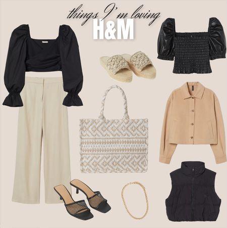Things I'm Loving / H&M Gift Guide / Summer Style   #LTKunder100 #LTKsalealert #LTKstyletip
