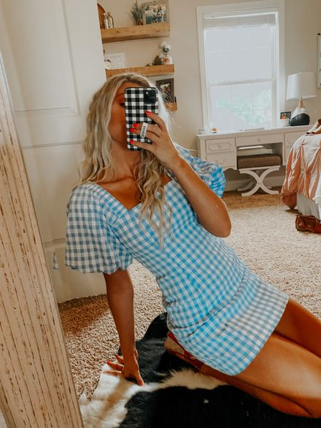summer wedding guest dress! gingham is such a huge trend this year! 🤩 #LTKstyletip #LTKunder50 #LTKfit http://liketk.it/3gNzk #liketkit @liketoknow.it Download the LIKEtoKNOW.it shopping app to shop this pic via screenshot