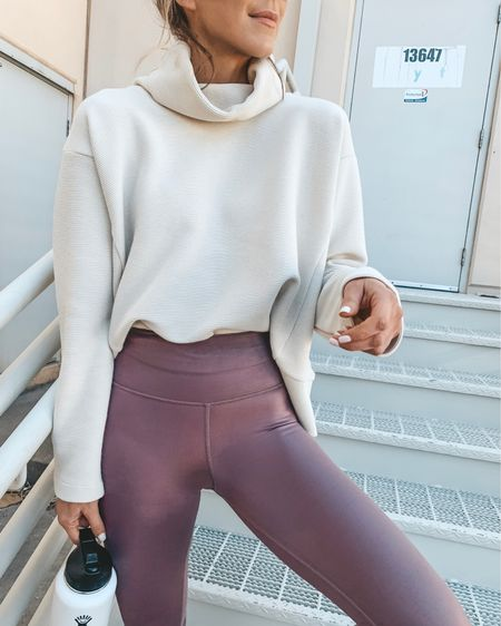 Love this pullover for to and from the gym. You can instantly shop my looks by following me on the LIKEtoKNOW.it app http://liketk.it/2AJ6O #liketkit @liketoknow.it #LTKfit