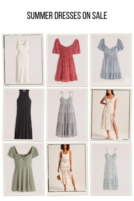 9 breezy summer dresses all on sale right now!   #LTKunder100 #LTKsalealert #LTKDay