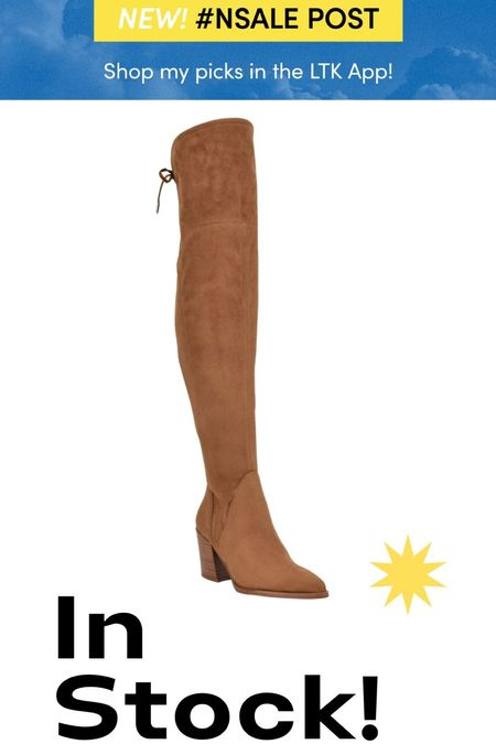 NSale shoes these over the knee boots are still available in the Nordstrom Anniversary sale and so cute for Fall. #nsale #nsale2021   #LTKsalealert #LTKshoecrush