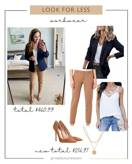 J Crew workwear outfit or Amazon Look for less // Amazon finds  Workwear Heels J Crew Amazon    #LTKstyletip #LTKunder100 #LTKworkwear