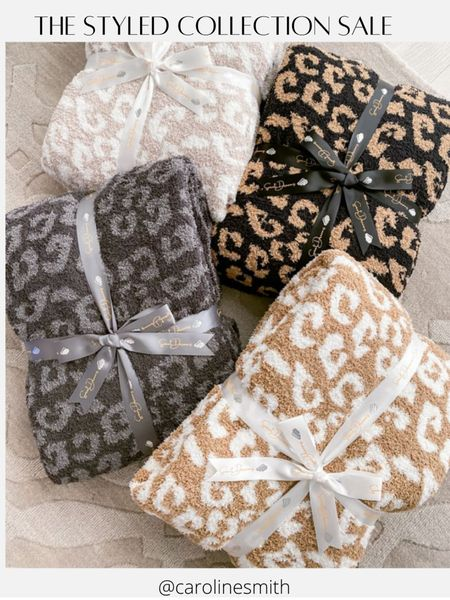 The Styled Collection Barefoot Dreams Blanket Dupe- originally $120, now $57 40% off sitewide!    #LTKSale #LTKHoliday #LTKGiftGuide