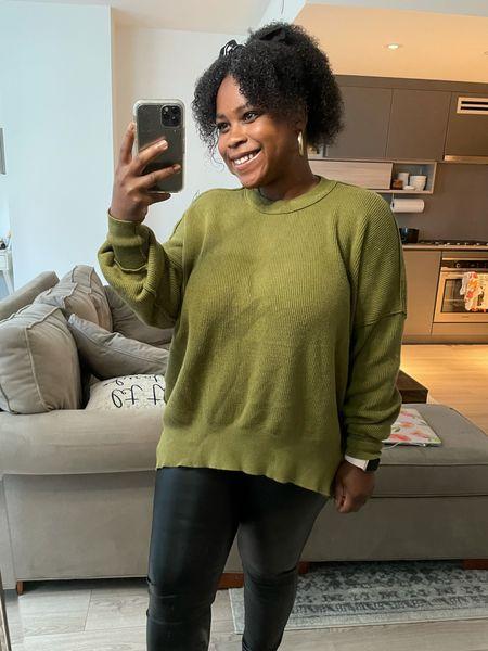 Free people easy street tunic look alike! Fall sweater, oversized tunic   #LTKstyletip #LTKGiftGuide #LTKunder50