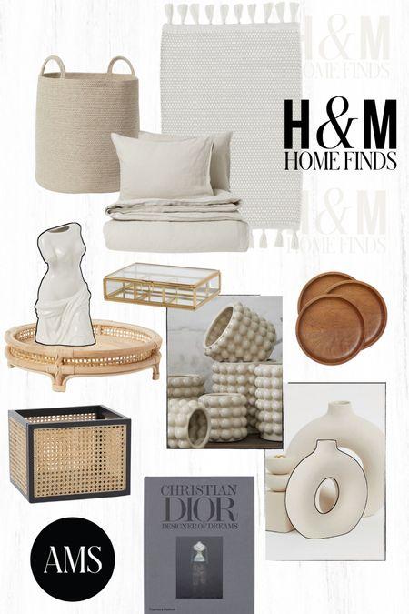 Neutral (and afford!!) home decor from H&M!  #LTKhome #LTKunder100 #LTKstyletip