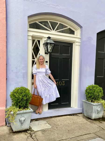 It's official. Charleston officially stole my heart. The city is so rich with history, culture, and outstanding food. But it is HOT! Luckily the nap dress kept me cool all day.   #ltkdresses #napdress  #LTKstyletip #LTKSeasonal
