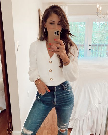 My favorite SHEIN haul to date!! My favorite is this cropped white cardigan #liketkit @liketoknow.it http://liketk.it/3eM4o