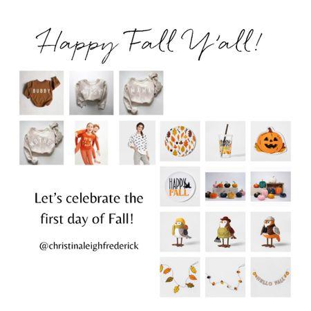 It's fall y'all!   #LTKHoliday #LTKfamily #LTKSeasonal